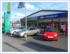 Subaru und Chevrolet Autohaus Markgraf in Weinsheim bei Bad Kreuznach
